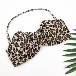 Victoria's Secret Leopard Bikini Top